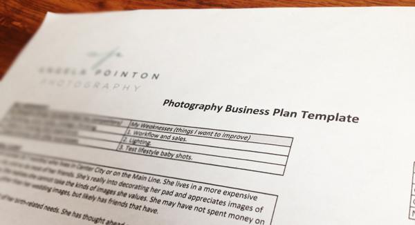 Tip Guest Blogger Angela Pointon on Why Bother Planning For A – Photography Business Plans