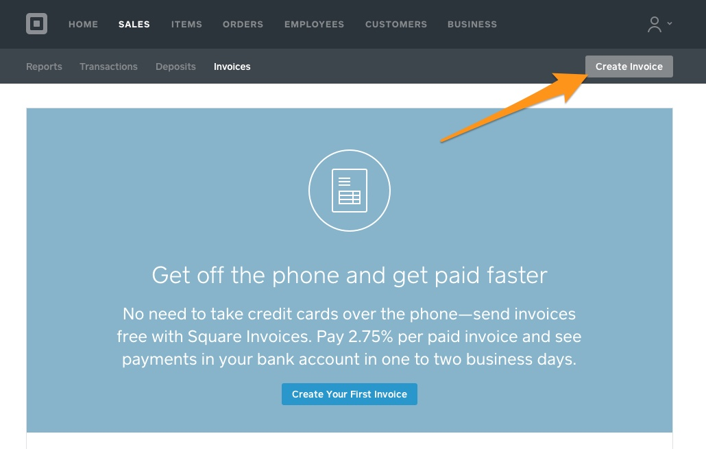 Tip Super Easy Invoicing With Square Fundy Designer - Square invoice fee