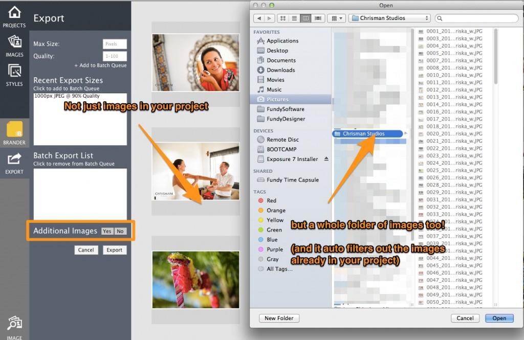 image brander folder