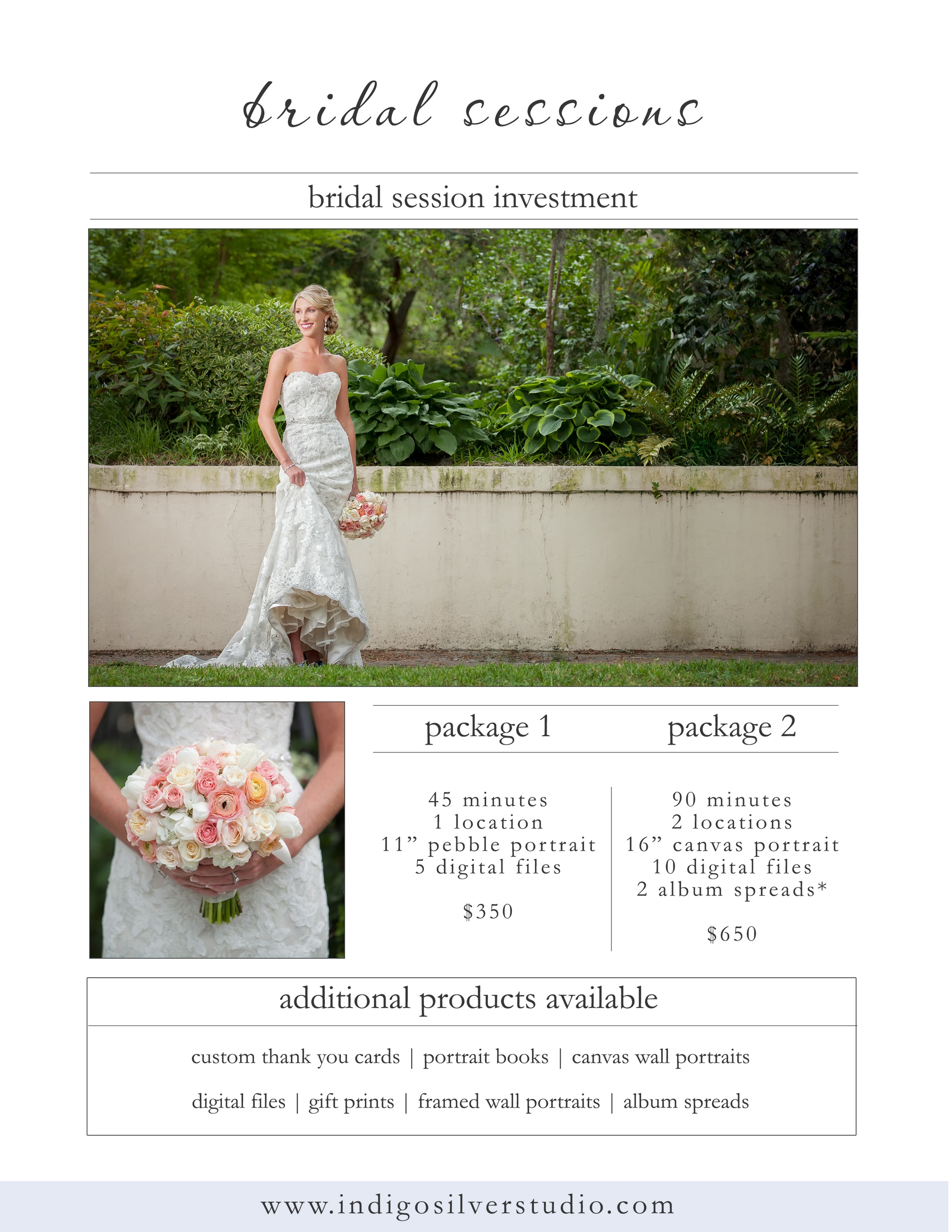 bridal pricing