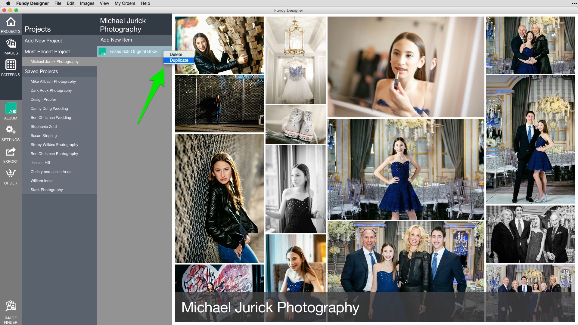 how to change order of photos in iphoto album