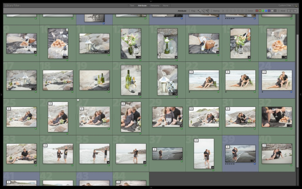 proofing in Lightroom 2