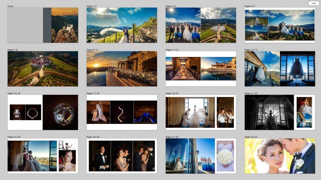 professional album design software for wedding and portrait