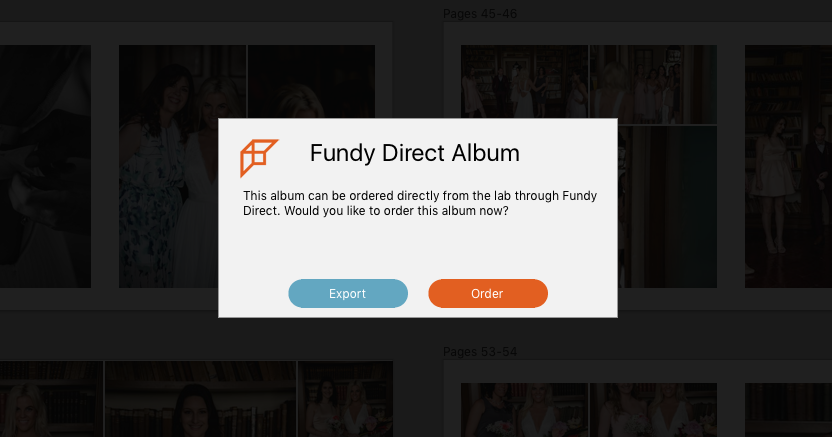 New Album Wizard in Fundy Designer - Fundy Designer